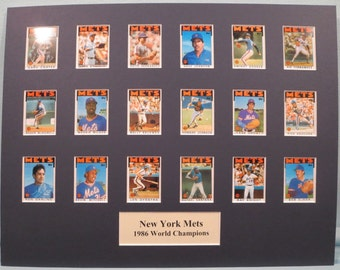 1986 New York Mets led by Dwight Gooden & Keith Hernandez  are the World Series Champs