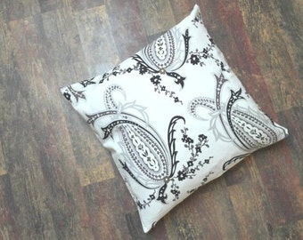 18x18 and 16x16 DECORATIVE small PILLOW cushion covers case with paisley housewares bedroom living room gift idee ready to ship