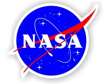 """2pack of 2"""" NASA Meat Ball Vinyl Decal Sticker Multi-Color High Quality Space Shuttle Outer Program"""