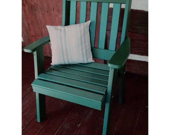 Recycled Plastic Traditional English Dining Chair