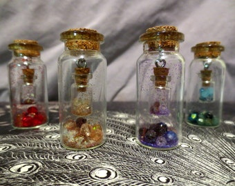 Bottle Within a Bottle Necklace
