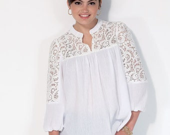 McCall's Pattern M7095 Misses' Tops and Tunics