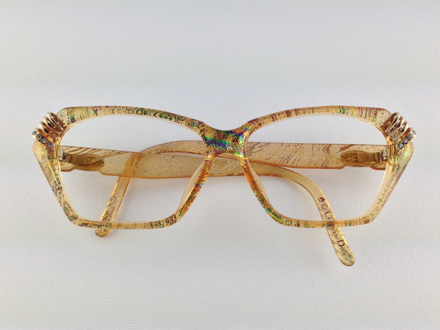 Glasses Metal Frame Dior : Vintage Glasses Christian Dior 80 Frame prescription