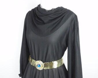 1980s does 1950s Sheer Black Rockabilly Dress, Vintage Dress, 1980s dress, 1950s dress, 50s Dress, 80s Dress, Pinup Dress, 1950s, 1980s, LBD