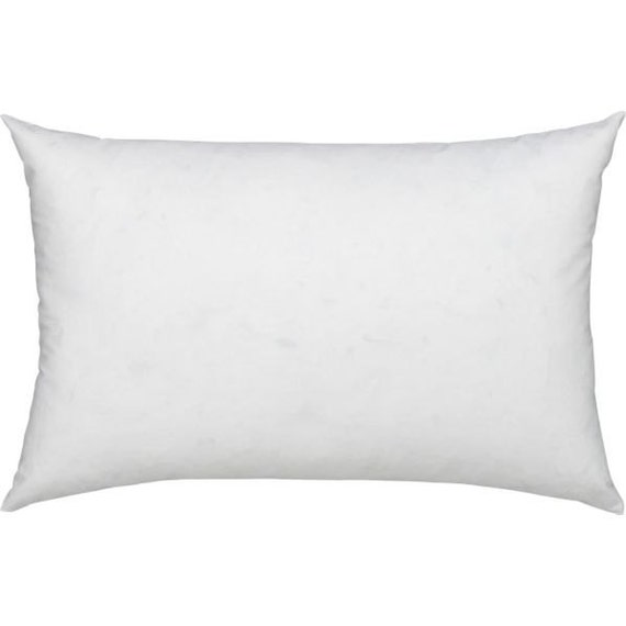 16x26 Down Pillow Insert 16 x 26 Feather Cushion Lumbar Pillow Form Accent Pillow Sham Insert ...
