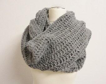 Tube scarf grey Winter