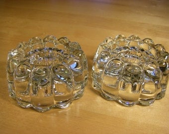 Princess House Crystal Taper, Pillar or Votive Candle Holders