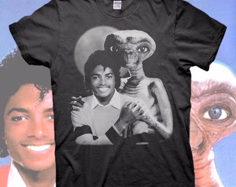 Michael Jackson E.T. the EXTRA-TERRESTRIAL T-SHIRT Thriller Breaking Bad