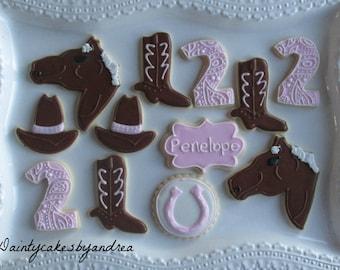 1 dozen cowgirl cookies!