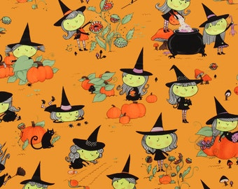 Alexander Henry Gwendolyn Goodwitch Cotton Woven Fabric 1 Yard