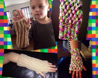 KIDS' Fingerless Gloves