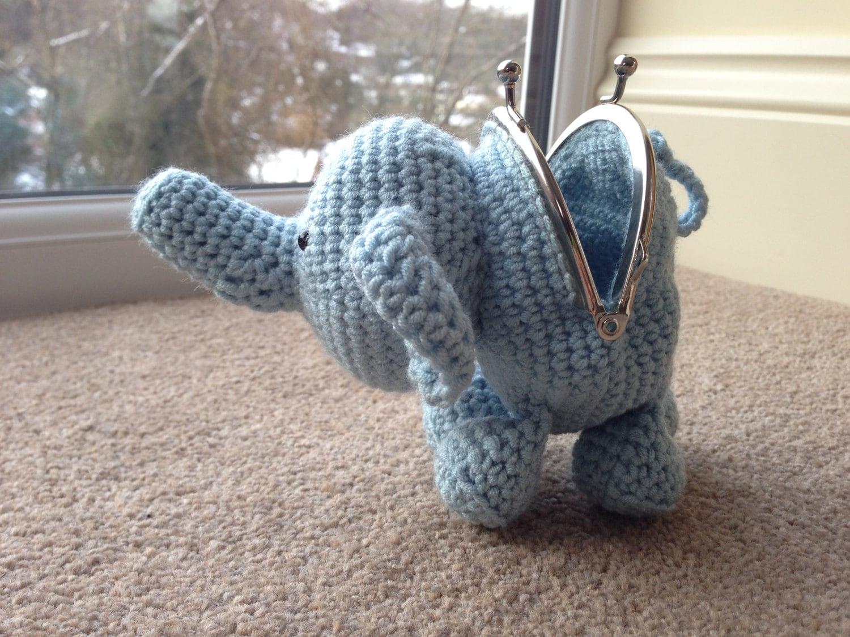 Elephant Coin Purse Crochet Pattern By Laulovescrochet On Etsy