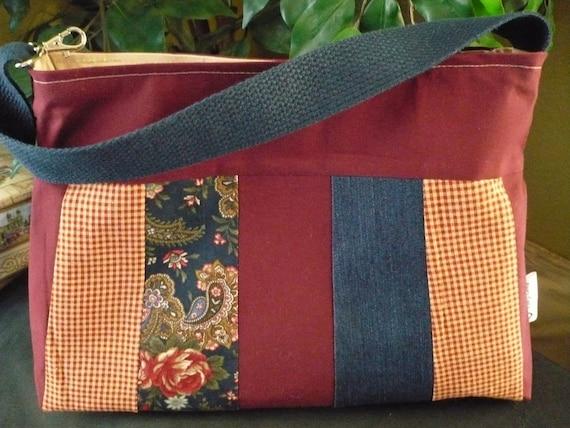 Multi-Color Sleek Purse Diaper Bag