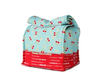 MTO Insulated lunch bag - Cherries