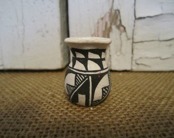 Miniature Native American pottery