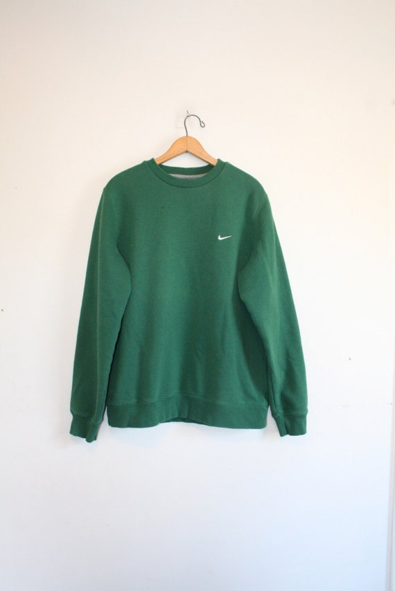 sweat shirt nike vert taille large 90 s pull. Black Bedroom Furniture Sets. Home Design Ideas