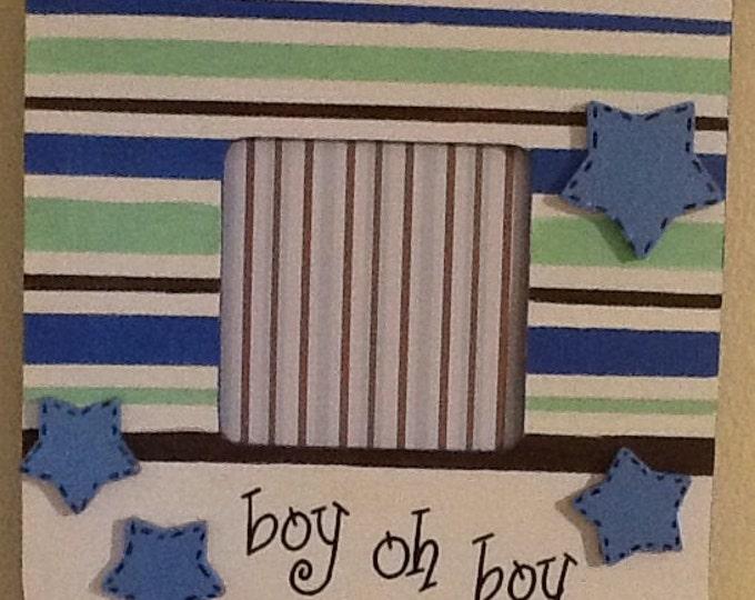 Boy frame, baby frame, sibling frame, newborn frame, family frame, big brother frame, big sister frame