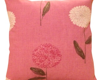 Harlequin Dahlia Pink Cushion Cover