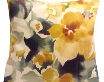 Sanderson Varese Autumn Gold & Spearmint Cushion Cover