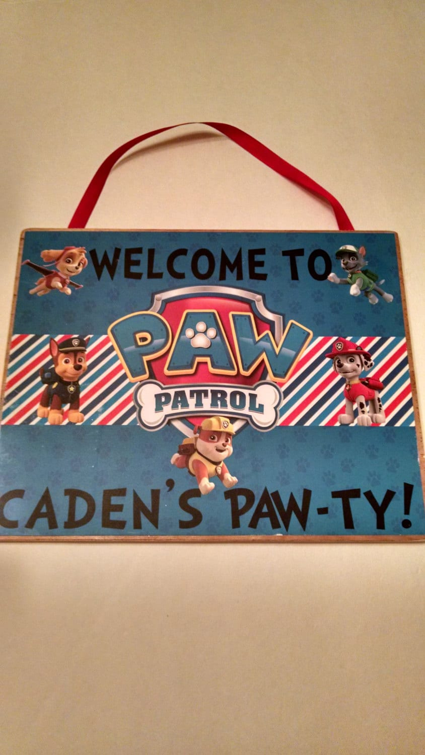 Dog Paw Patrol Birthday Door Sign By Babycakescaketoppers. Gonorrhea Signs. Hippy Stickers. Diabete Signs. Unrecognized Signs. Enamel Signs. 10 Year Business Logo. Overthinking Signs Of Stroke. Vedic Astrology Signs
