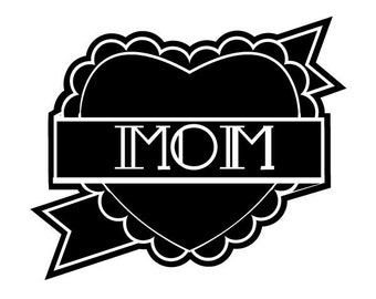 Love mom tattoo sticker by Marion Laille