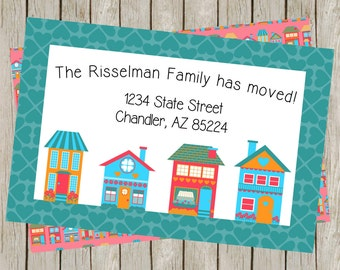 We've Moved | New Home | Change Of Address Card (4x6)