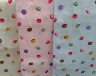French Macaron Fabric