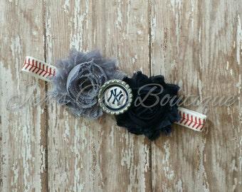 New York Yankees elastic infant, toddler, or adult headband