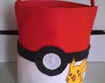 Pokemon inspired Easter basket