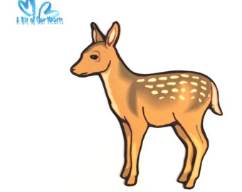 Young Deer Magnet