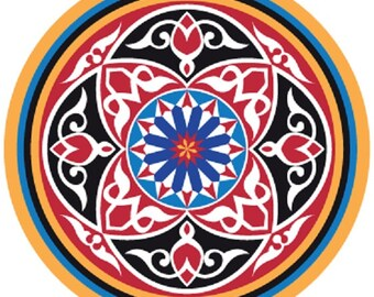 Spanish wall sticker etsy - Mosaique miroir autocollante ...