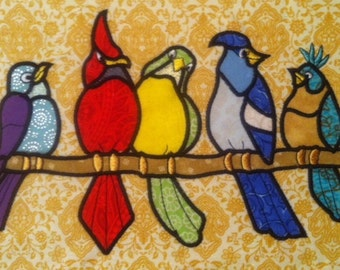 Bird Applique 6x10