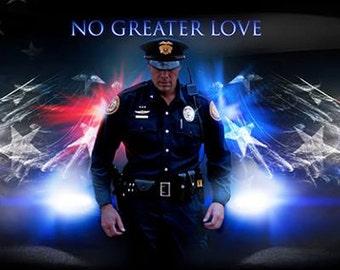 Police by artist Jason Bullard
