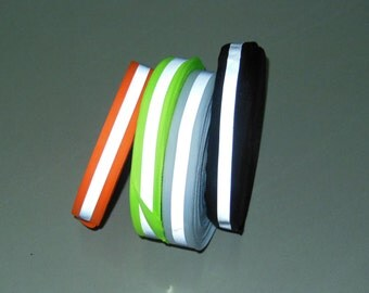 "10Yards 25mm Reflective Tape 1"" reflective tape neon orange neon green"