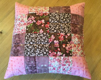 Beautiful do it yourseft Patchwork Quilted Cushion cover Kit