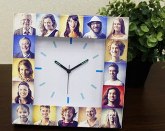 Make your own photo clock