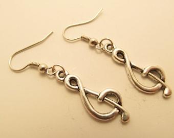3897 -  G key Earrings