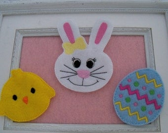 Easter Over Size Feltie , Headband Slider