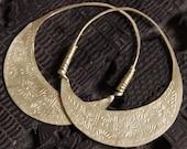 Handmade Hmong Earrings Hoop Loop