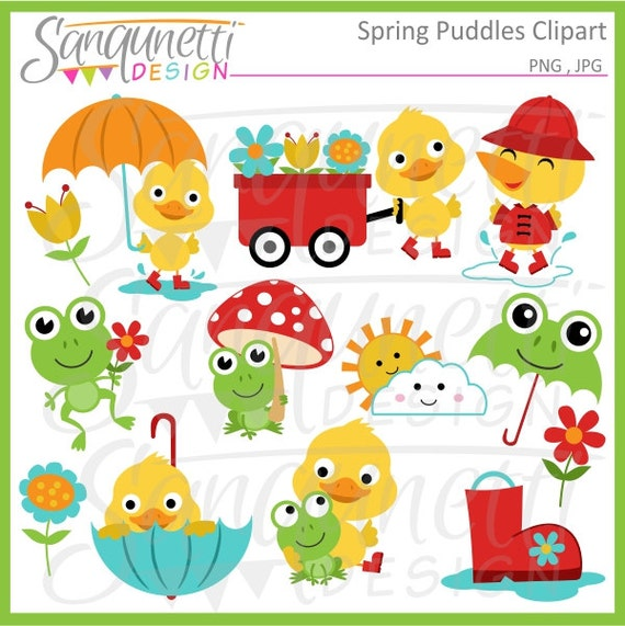 spring dog clipart - photo #34