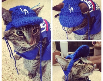 Baseball Cat Cap