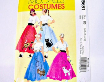 How to Make a Poodle Skirt - YouTube