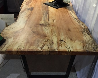 Spalted maple dining table!!