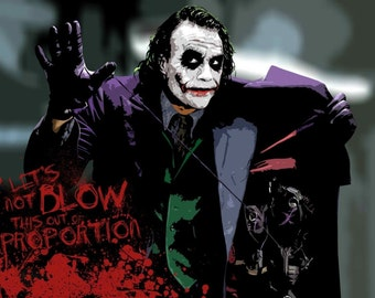 The Joker Movie poster, Picture Print A0