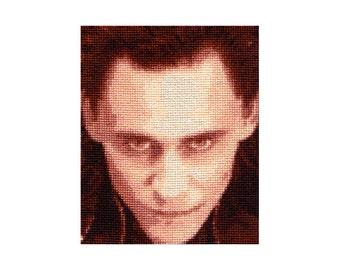 Loki Cross Stitch Pattern