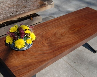 Walnut Table Slab / Coffee Table / Couch Table /