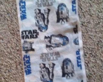 R2 D2, Star Wars Cloth Diaper Burp Cloth