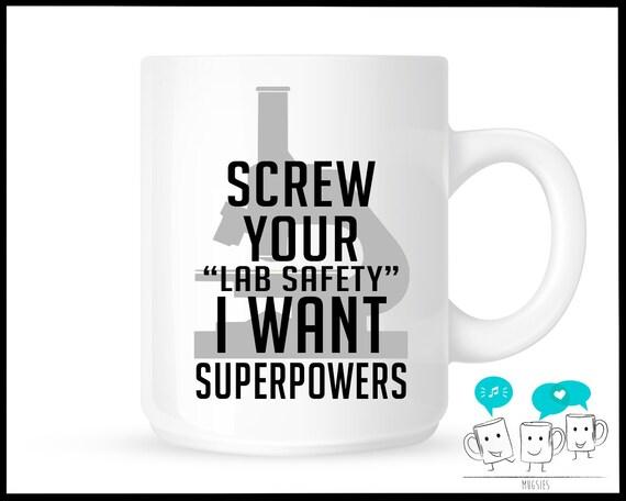 Lab humor Science teacher Funny Coffee Tea Mug humor Funny gift for him/ Funny gift for her