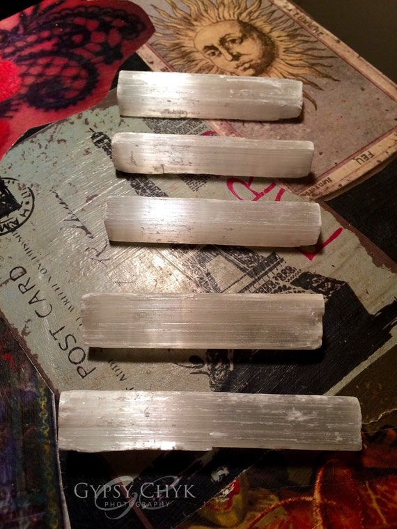 Selenite sticks