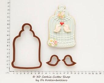 Birdcage Cookie Cutter Set